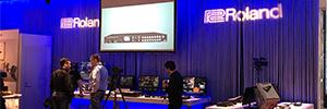 Roland presenta en ISE 2018 sus últimos conmutadores de vídeo y mezcladores de audio