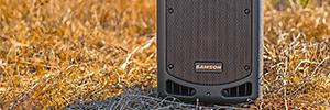 Samson XP108 W: sistema PA portátil para eventos en exteriores y grandes espacios