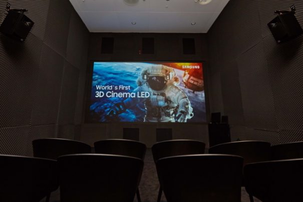 Samsung-3d cinema led ise2018