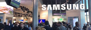 Samsung refuerza en ISE 2018 su apuesta Led con la versión comercial The Wall Professional