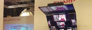 Sharp introduces two ranges of flexible and intelligent digital signage screens