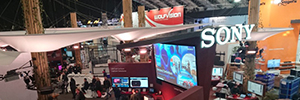 Sony at ISE offers experiences AV immersive that foster collaboration
