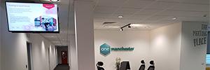 One Manchester actualiza su infraestructura de digital signage con Sony