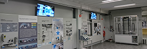 Sony offers the experience of the user at the center of the kinetic activities of Festo