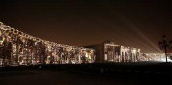 Tigrelab Monolith Festival Luz Sharjah 2018