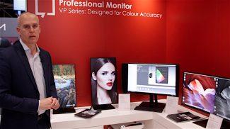 Umberto Ronchetti sales manager AV Viewsonic Iberia ISE 2018
