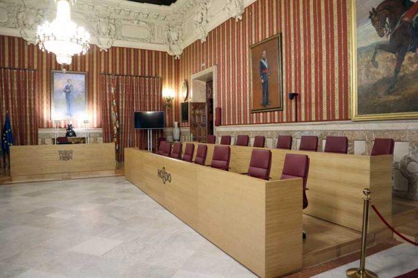 Vitelsa ville Séville Hall complet