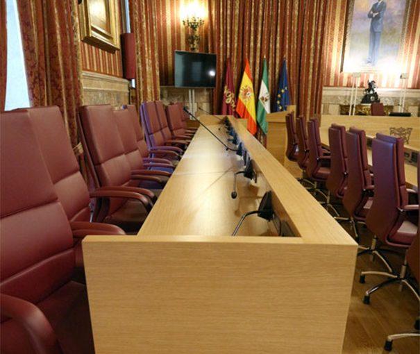 Vitelsa Ayuntamiento Sevilla Salon Plenos