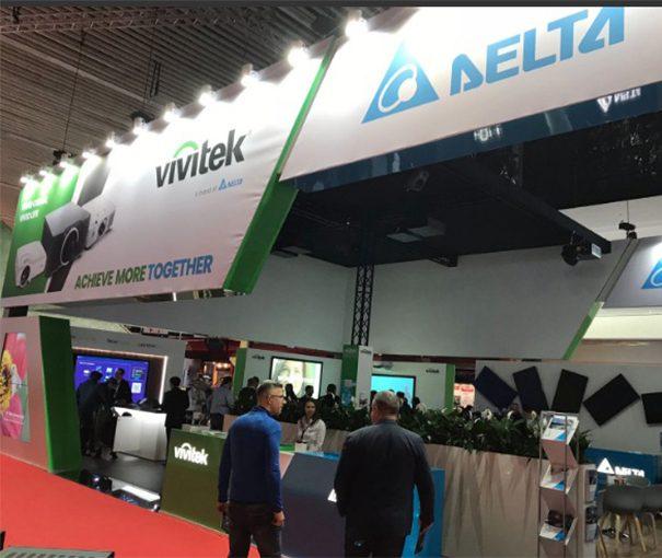 Vivitek y Delta ISE 2018