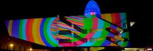 Llum BCN 2018 cuenta con Sono para el mapping sobre la fachada del Museo del Diseño