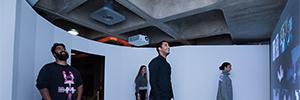 Christie Pandoras Box gestiona una proyección interactiva en el Barbican Centre