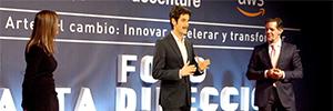 Cubensis sigue apostando por las holografías con un presentador virtual en 3D