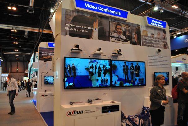 Dahua sicur 2018 videoconferencia