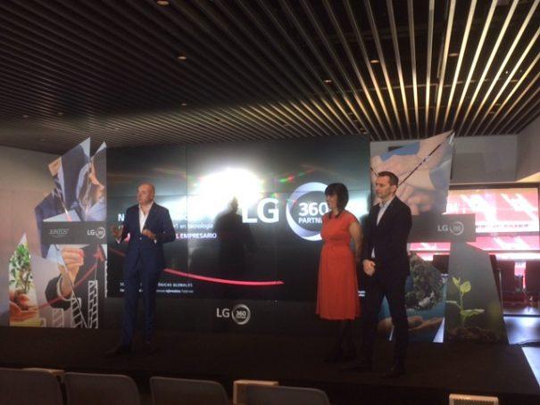 LG juntos 2018 wanda metropolitano