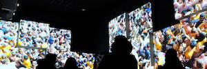 Mediapro Exhibitions crea espacios interactivos y multimedia en el recinto del Poble Espanyol