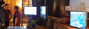 NEC Display contó con B-Tech, TMM Group y Vogel's para su jornada de puertas abiertas