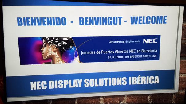 NEC Jornada Puertas Abiertas 7 marzo Barcelona
