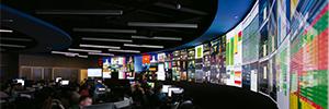 Intelsat elige a NEC Display para el NOC que centraliza sus operaciones