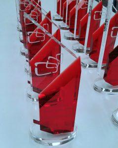 Premios Panorama metacrilato