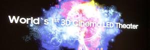 Tecnología de pantalla Led versus proyección: la alternativa de Samsung en salas de cine