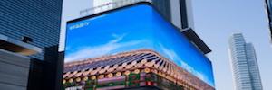 Samsung instala la pantalla Led más grande de Corea para crear el 'Times Square' de Seúl