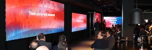 Leyard y Planar inauguran un espectacular showroom en Barcelona
