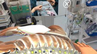 Universidad Salamanca simulador VR cirugia