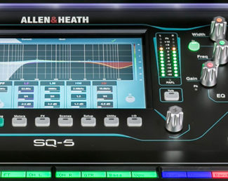 allen-heath consola SQ firmware