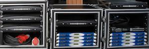 Las Series X y K de Powersoft refuerzan el sistema de sonido del aniversario de Oruro