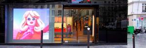 Madrid regula la publicidad Led exterior en escaparates apagando las pantallas a las 22:00h
