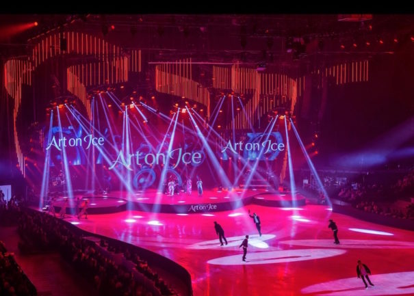 Art on ice Dataton PlanB Solutions Light Design