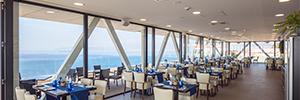 El restaurante Bistro Point se sonoriza con Apart, Alto y Audio-Technica