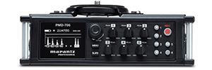 Marantz PMD-706: grabador de seis canales para los profesionales de DSLR