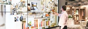 Ikea utiliza las soluciones de proyección y visualización de NEC para la experiencia digital de sus tiendas