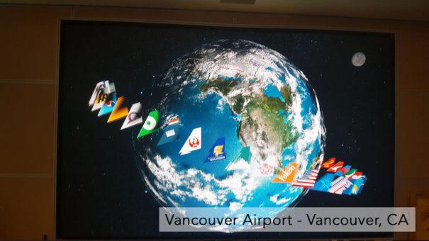 Nanolumens Float4 aeropuerto Vancouver