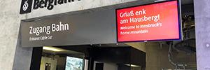 El teleférico austriaco de Patscherkofel actualiza su sistema de información con Peerless-AV
