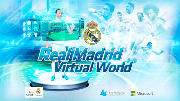 Real Madrid virtual Astosch Technology