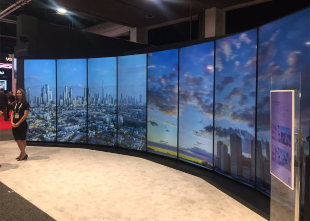 Sharp Attends Nab 2018 To Publicize Its Ecosystem 8k