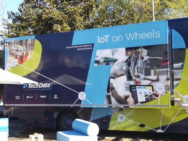 Tech Data IoT on Wheels Roadshow 2018