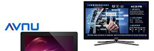 Tripleplay Caveman amplía su soporte a las pantallas de digital signage Avnu PF