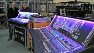 USE sonido dLive allen-heath Audio-Technica