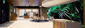 El Banco de Hawai ofrece una imagen vanguardista con un videowall de gran formato