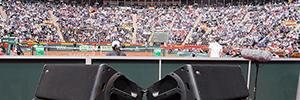 Los cuartos de final de la Copa Davis contó con Work Pro para su sonorización