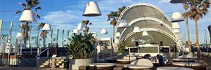 Marina Beach Club optimiza su sistema electro-acústico con Zentralmedia