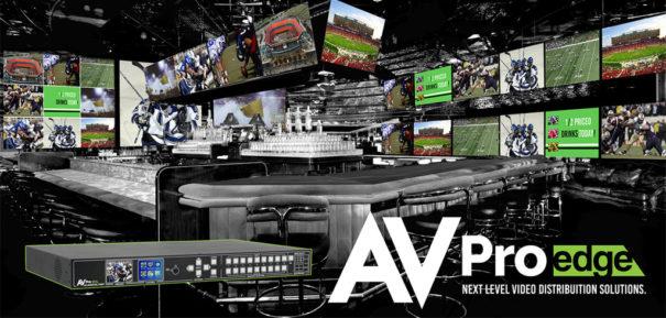 AVPro Edge sports bar 9x9