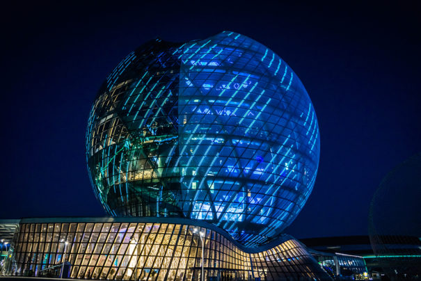 Christie Pandoras Expo Astana 2017