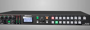 Roland incorpora nuevas funciones de control para cámaras PTZ en el conmutador de vídeo XS-62S