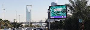 Al Arabia Advertising presenta su nueva campaña de señalización digital con pantallas Led de Daktronics