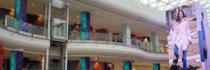 Dynamo Led Displays completa la instalación de la torre de Led más grande de Omán