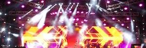 Romeo Santos se presentó en Madrid con un espectacular diseño de iluminación